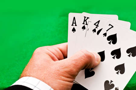 kartenspiel: Spielkarte-Spiel