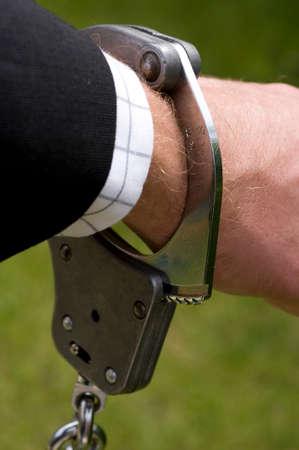 criminal defense: handcuff