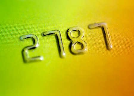 tarjeta visa: Cuenta de la tarjeta de crédito Foto de archivo