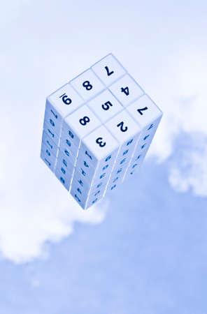 decipher: 3d Sudoku cube
