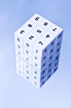 decipher: Sudoku cube