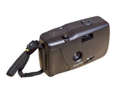 compact camera: retro compact camera Stock Photo
