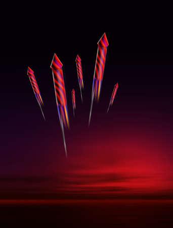 guy fawkes: Firework night Stock Photo
