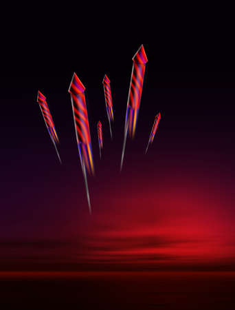 guy fawkes night: Notte Fuochi d'artificio Archivio Fotografico