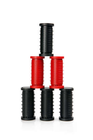 rollers: stacked rollers