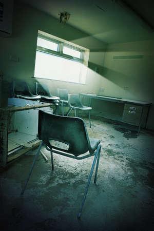 derelict: derelict office