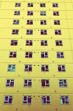 high rise: highrise tower block windows