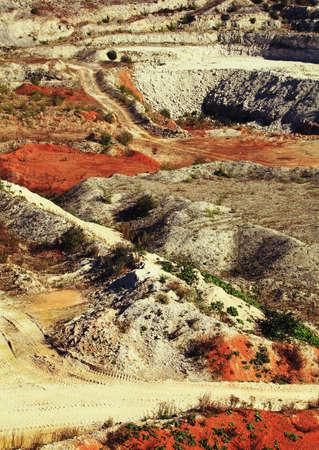 gravel pit: gravel pit