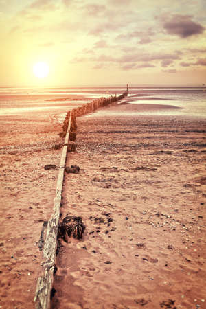 barrier: drift barrier Stock Photo