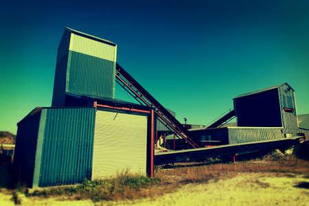 industrialised: stone conveyor belts