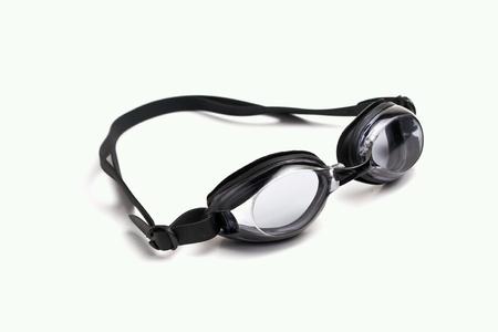 aqua: goggles isolated Stock Photo
