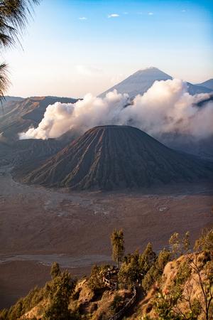 tengger: Bromo Tengger Semeru National Park in East Java, Indonesia