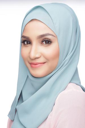 portrait of beautiful musliman asian woman Standard-Bild