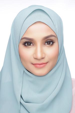 portrait of beautiful musliman asian woman Фото со стока