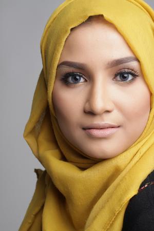 portrait of beautiful musliman woman