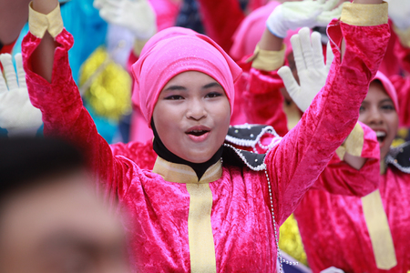 KUALA LUMPUR, MALAYSIA- 31ST AUGUST 2016 : Merdeka day celebration is held in commemoration of Malaysias Independence Day at Dataran Merdeka; one of the most colorful events celebrated annually.