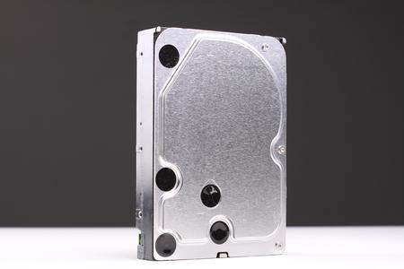 harddisk: harddisk isolated in white background