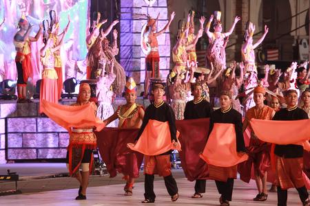 Kuala lumpur 25 September 2016 , Citra Warna Malaysia was held at Dataran Merdeka. A Parade by the performers. Editorial