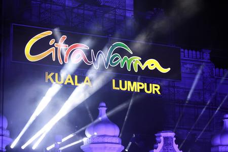 merdeka: Kuala lumpur 25 September 2016 , Citra Warna Malaysia was held at Dataran Merdeka.