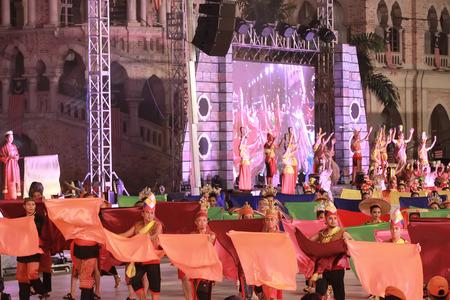 merdeka: Kuala lumpur 25 September 2016 , Citra Warna Malaysia was held at Dataran Merdeka. A Parade by the performers. Editorial