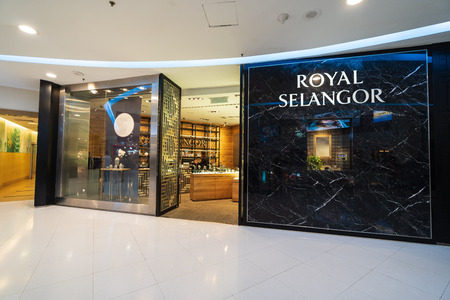 SUBANG JAYA, SELANGOR - 25 July 2018. ROYAL SELANGOR inside Sunway Pyramid Mall at Subang Jaya. Editorial