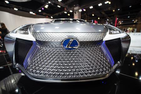 Kuala Lumpur, Malaysia - 23 November 2018. Lexus ls+ concept at kuala lumpur motorshow.