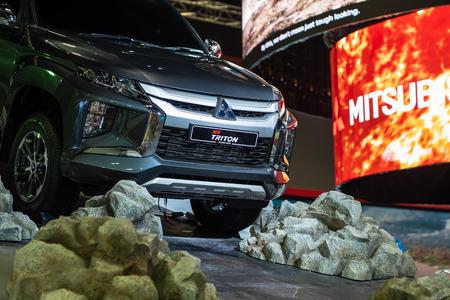 Kuala Lumpur, Malaysia - 23 November 2018. New triton at kuala lumpur motorshow. Editorial