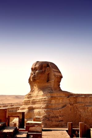 esfinge: La gran esfinge Foto de archivo