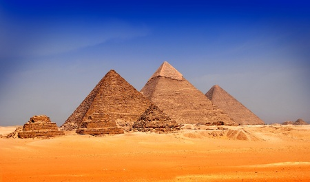 The Pyramids of Egypt photo
