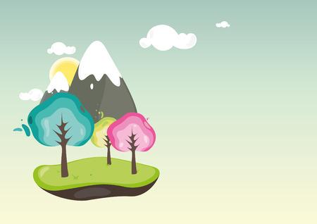 Spring Bloom illustration Vector