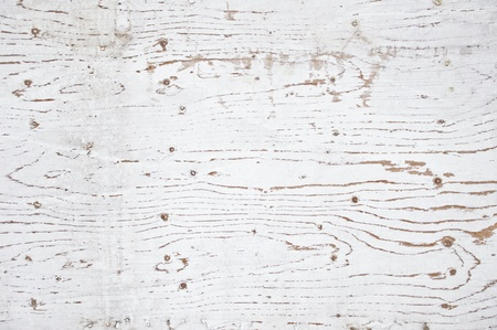 texture image of white painted, grunge, worn wooden wall photo