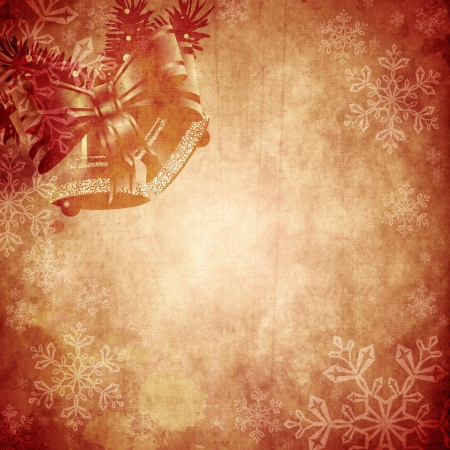 christmas baubles of modern design: Vintage Christmas background design with copy space for your text and images, very high resolution available. Stock Photo