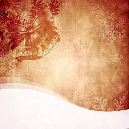Vintage Christmas background design with copy space for your text and images, very high resolution available. photo