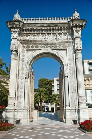 Ciragan Palace Sea Gate, Amazing Architectural Detail photo