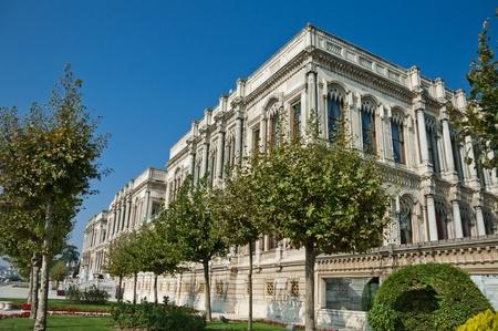 ottoman empire: Ciragan, Old Ottoman Royal Palace near the Bosporus, Istanbul