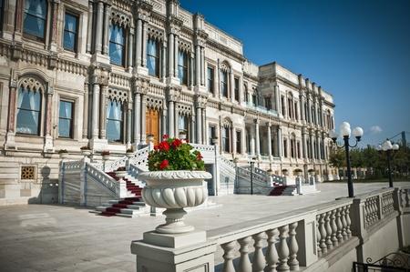 Ciragan, Old Ottoman Royal Palace near the Bosporus, Istanbul photo
