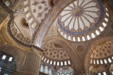 Mosque interior detail Editorial