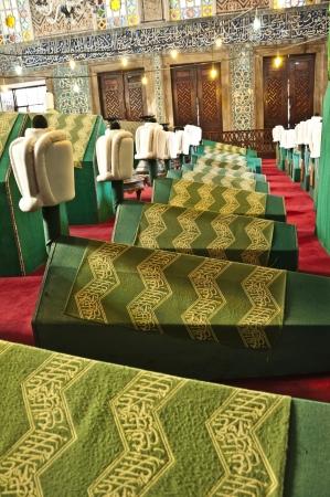 muslim pray: Ottoman dynasty tombs