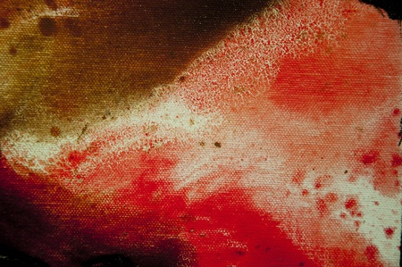 modern art painting: Detailed close up texture of oil painting on canvas Stock Photo