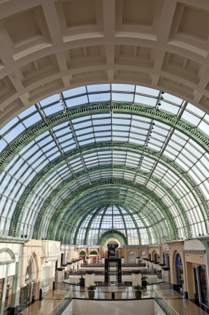 23 February, 2012, Dubai, UAE   Kempinski The Mall of the Emirates, the second largest shopping mall of the world Stock Photo - 13893939