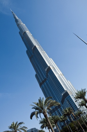 An amazing piece of architecture, the tallest building in the world, Burj Khalifa and the surroundings in Dubai, UAE Stock Photo - 12904078
