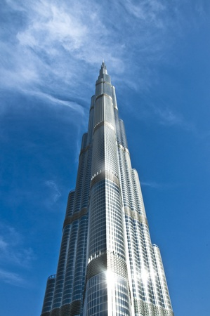 An amazing piece of architecture, the tallest building in the world, Burj Khalifa and the surroundings in Dubai, UAE Stock Photo - 12904077