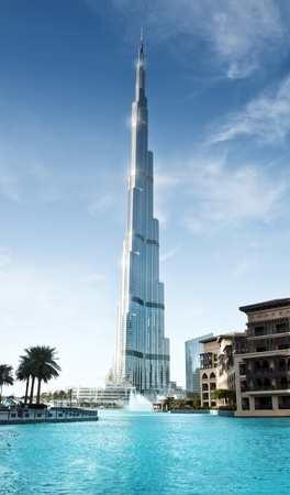 Burj Khalifa, Dubai UAE - 23 Feb 2012 Stock Photo - 13244716