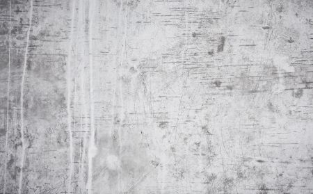 Grunge texture of rough concrete wall with scratches photo