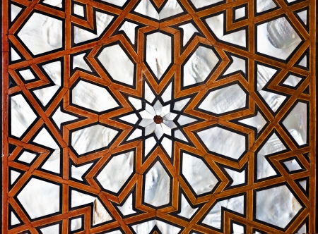ottoman empire: Mother of pearl ornament pattern
