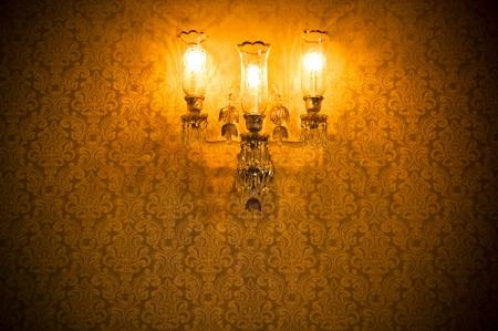 iluminados: Pared Enlightened damasco