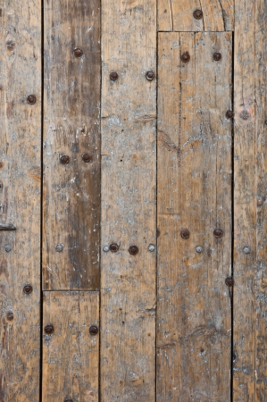 Texture of grunge wooden panels photo