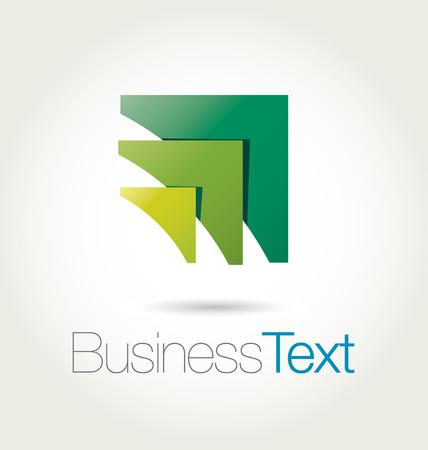 logos negocios: Dise�o moderno y estilizado emblema de la letra A