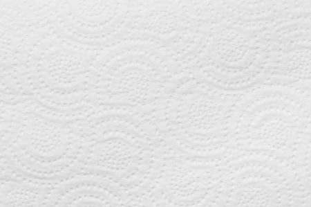 kitchen towel: White tissue texture Stock Photo