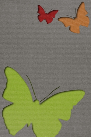 books on a wooden surface: Butterflies Background